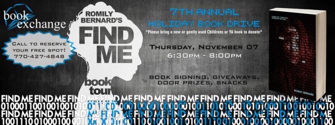 BOOK SIGNING EVENT: Book Exchange   Nov 7th, 2013