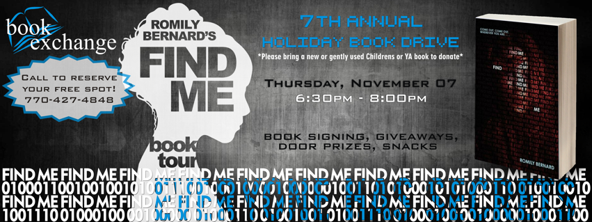 BOOK SIGNING EVENT: Book Exchange | Nov 7th, 2013