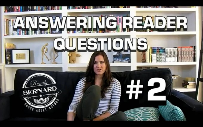 VIDEO: What Do You Do When You Are Not Writing?