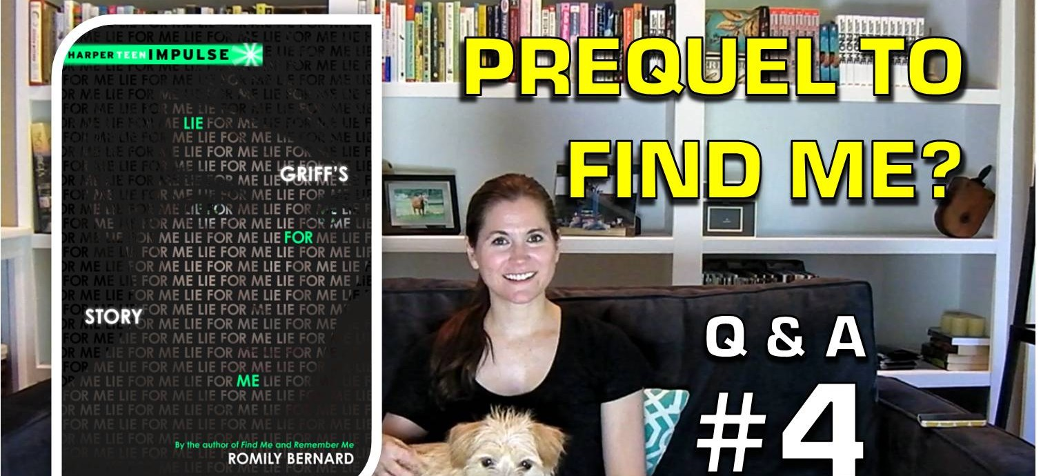 Q&A4: A Prequel to FIND ME?